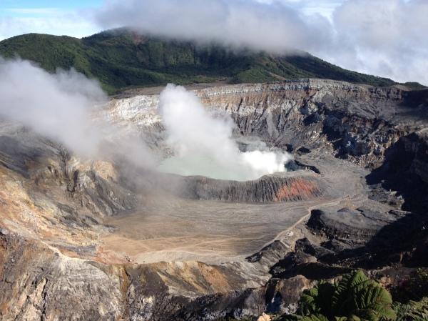 Poas Volcano, Costa Rica.