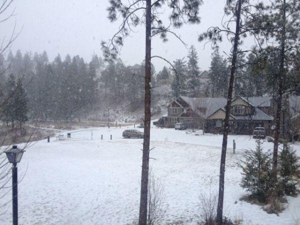 Kelowna Winter 2014