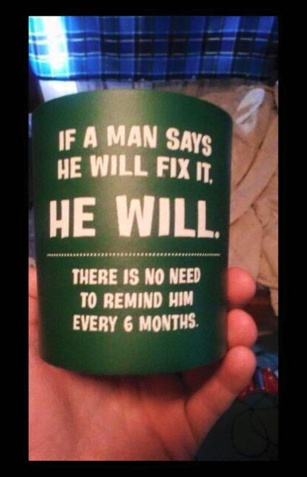 Man Fix It Mug